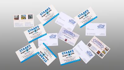 Visitenkarten Klaexx Werbung Ihr Partner Für Kreative